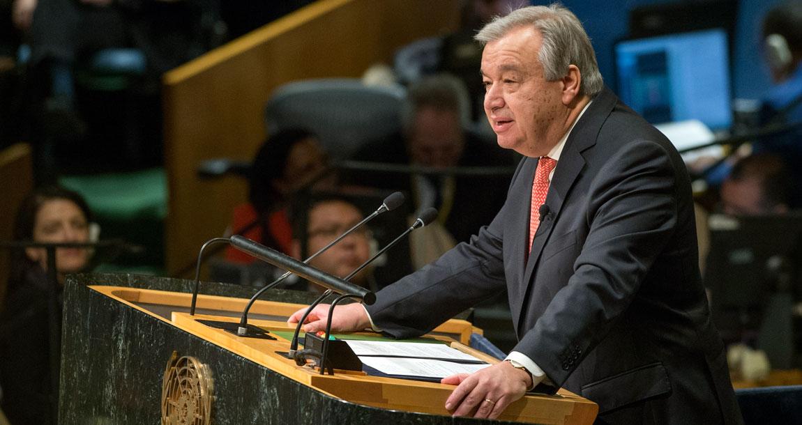 国連事務総長 Antonio Guterres