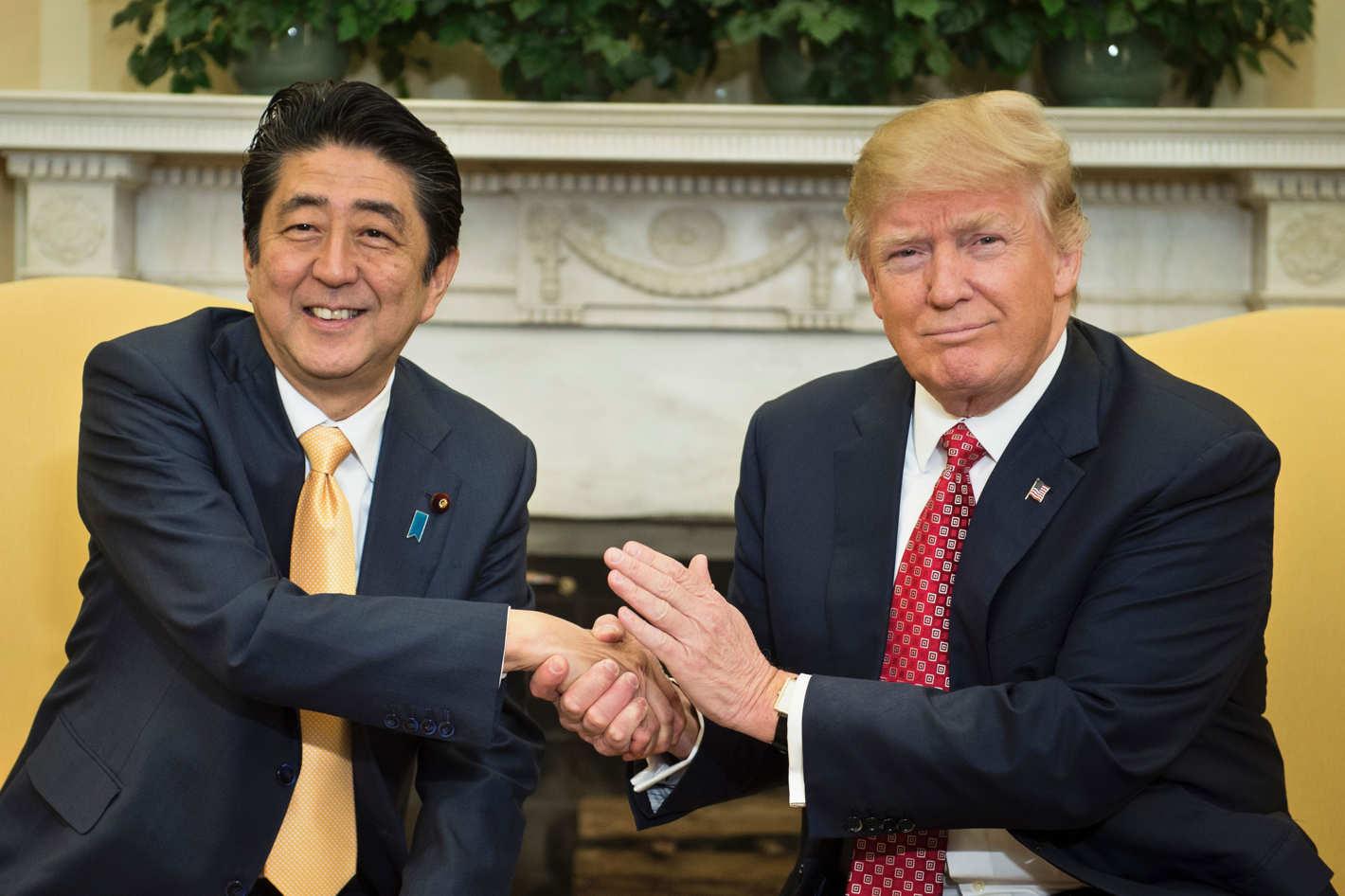 Abe & Trump