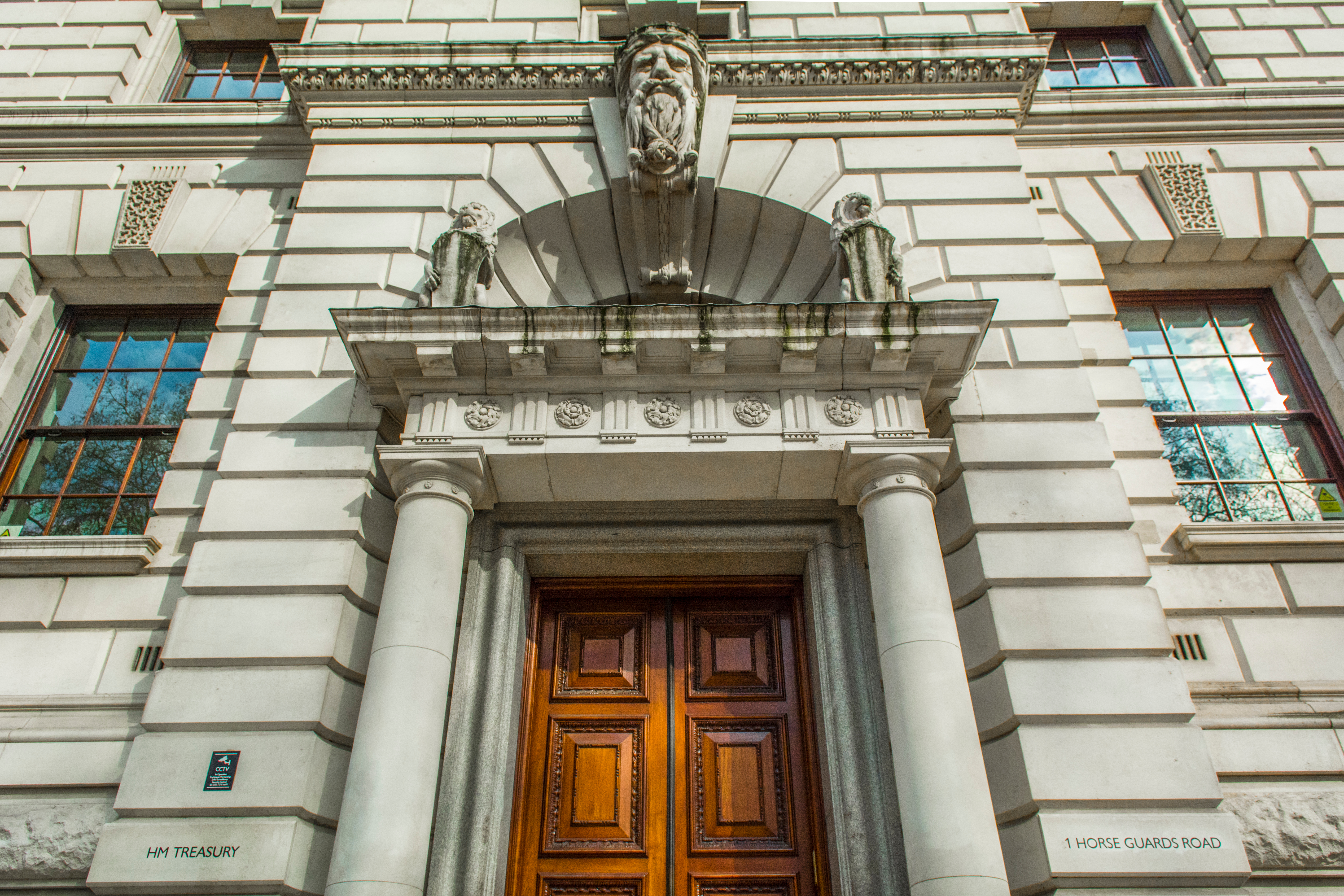 Ministry of Finance (HM Treasury), the historical London