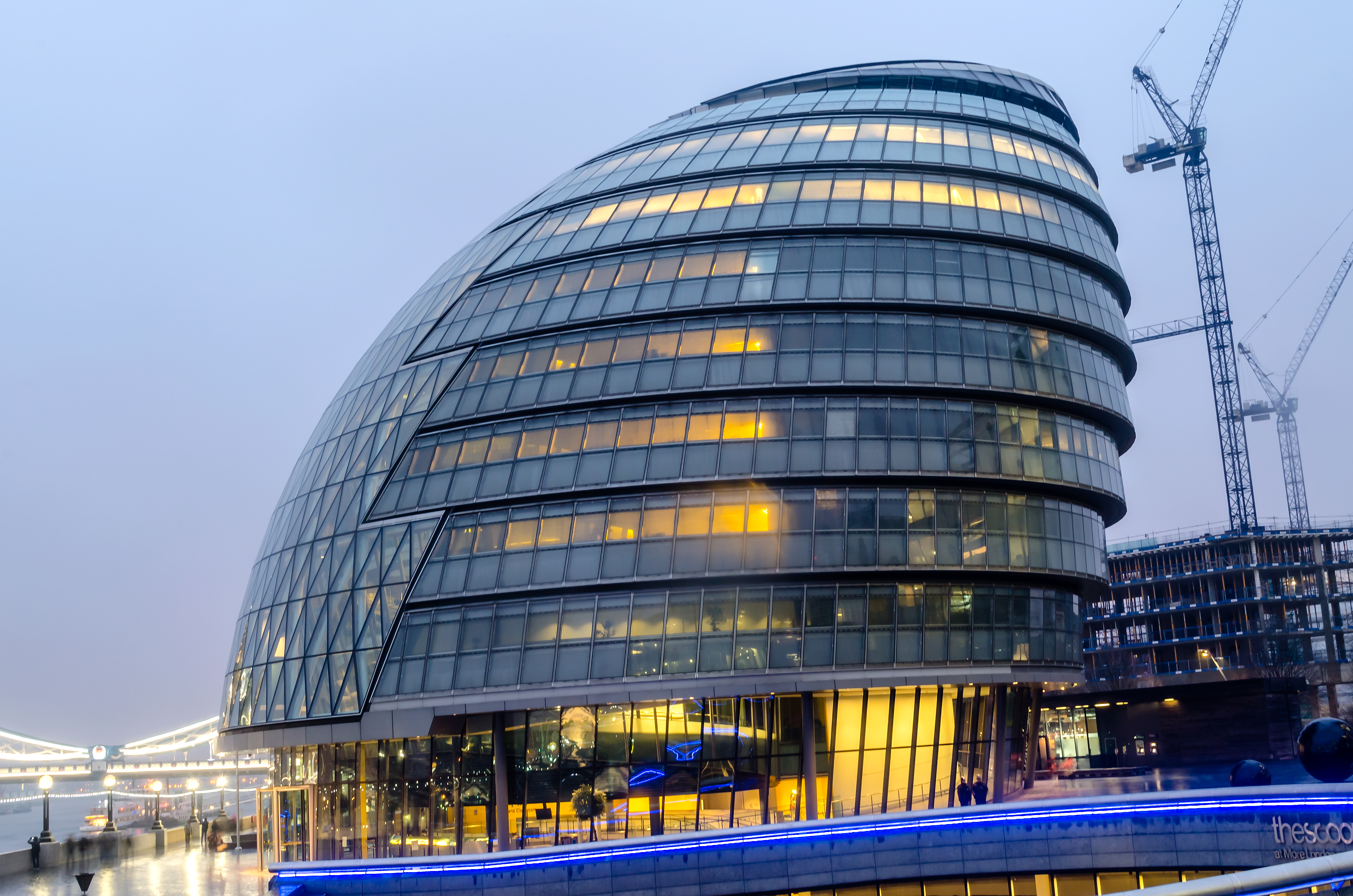 City Hall and the contemporary London