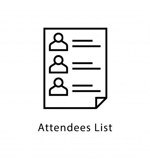 Attendees List